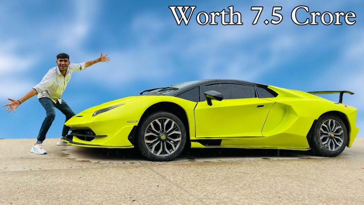 We Drive Lemborghini Aventador SVJ Worth 7.5 Crore - Real 😎
