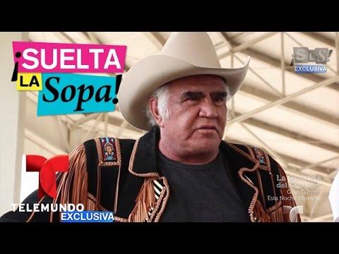 Suelta La Sopa | Vicente Fernández habla de su salud y de su supuesta hija no reconocida | Entreteni