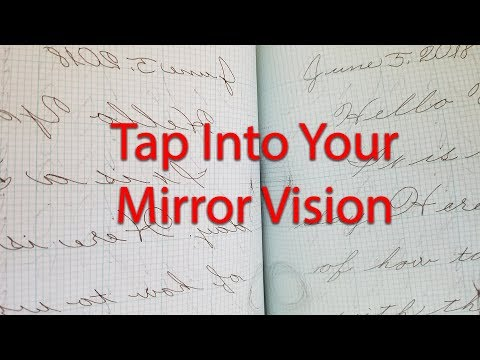 Practical Penmanship: Mirror Writing