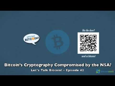 Bitcoin's Cryptography Compromised By The NSA?