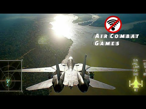 Top 10 Air Combat Games For Android & IOS 2019 HD OFFLINE