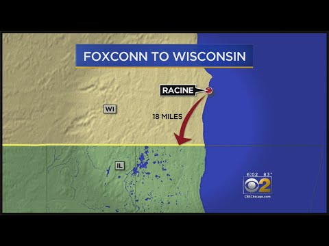 Wisconsin Lands Huge Foxconn Electronics Plant