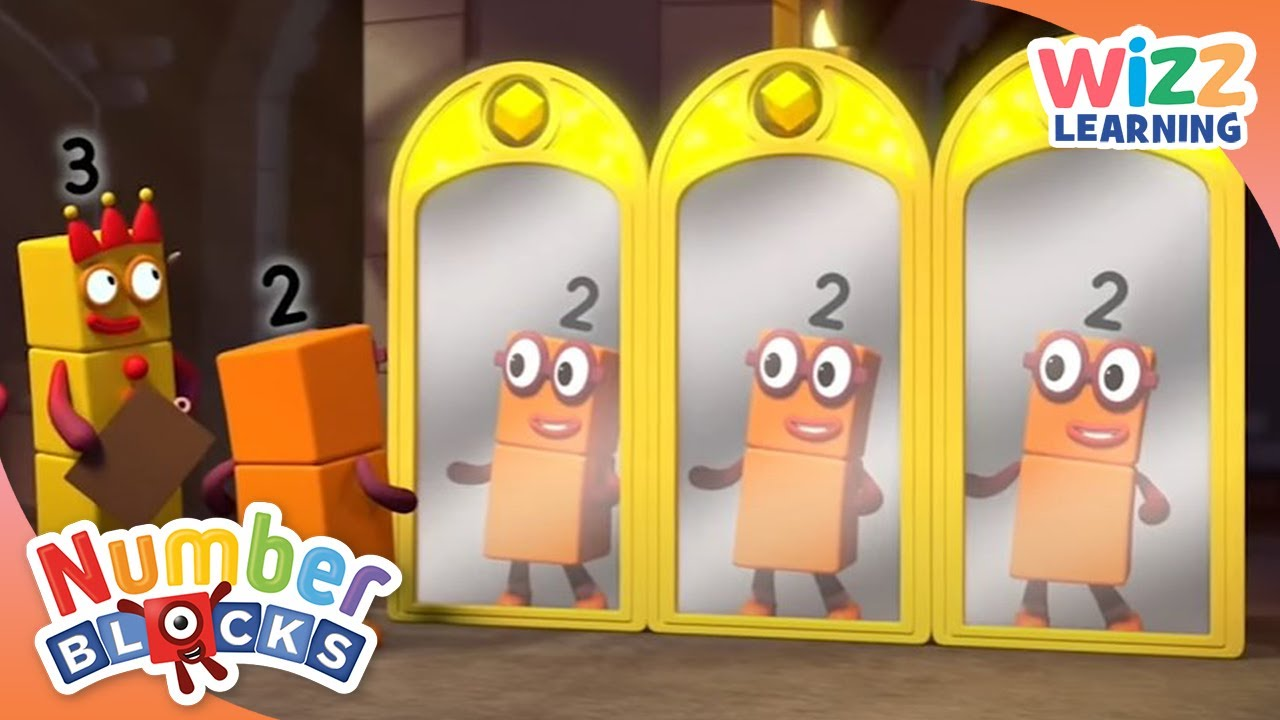 Numberblocks - The Magical Mirror | Learn to Count | Wizz Learning