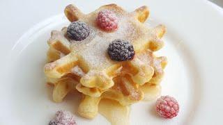 Мягкие творожные вафли 🌸 идеи для завтрака 🌸 Soft waffles