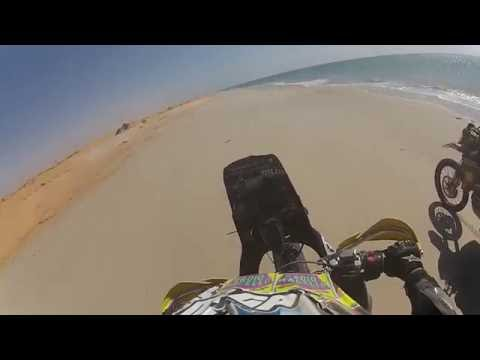 17 Minutes ride on a North Africa Beach (Mauritania)