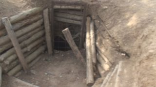 ANZAC Tour 12 - Digger Trench Lines Gallipoli