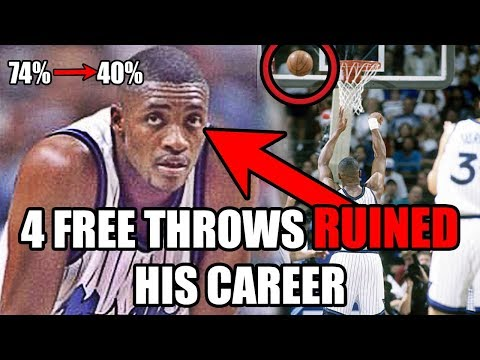 How 4 Free Throws RUINED This NBA Star's Career