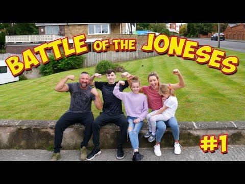 BATTLE OF THE JONESES EPISODE #1 | JADE JONES VLOG
