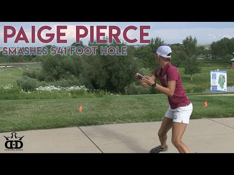 Paige Pierce Crushes 541 Foot Hole at Rocky Mountain Women's Disc Golf Championships