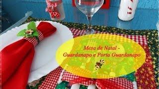 Especial de Natal – Mesa de Natal por Idéias da Tianinha