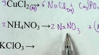 Predicting whether a reaction can occur or not for double displacement reactions