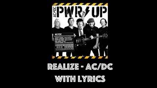 AC/DC - Realize With Lyrics
