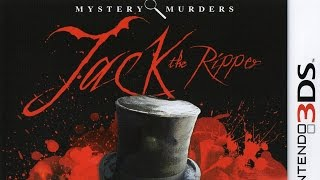 Mystery Murders Jack The Ripper Gameplay (Nintendo 3DS) [60 FPS] [1080p]