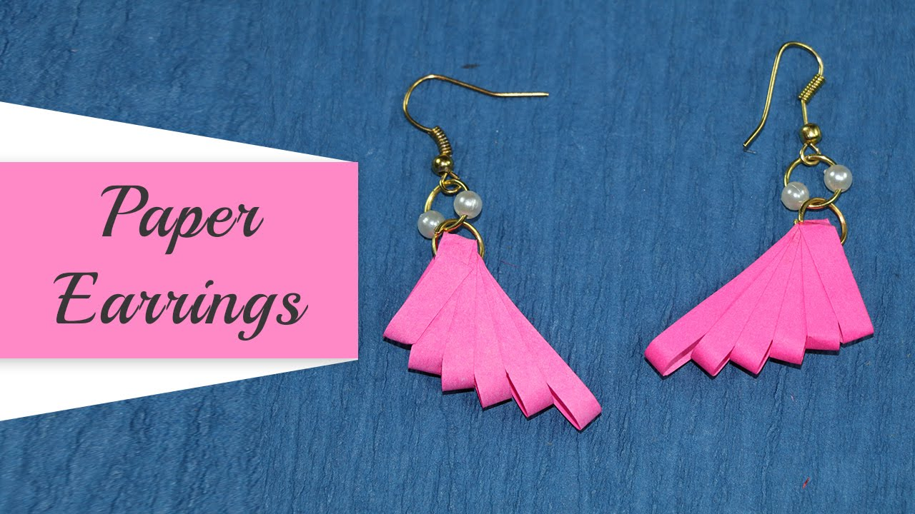 Quilling Earrings How To Make Paper