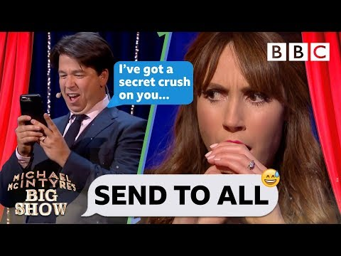 Send To All with Alex Jones | Michael McIntyre's Big Show - BBC