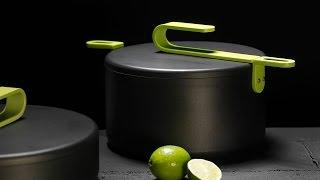 Дизайнерская итальянская посуда HOOK - полезная пища, красивый интерьер(Набор эксклюзивной кухонной посуды HOOK Дизайнер коллекции известный во всем мире Карим Рашид. Это не шаблон..., 2014-09-26T10:36:53.000Z)