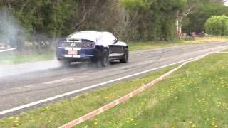 Shelby Cobra GT500 Crash -  Short Version