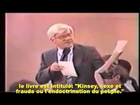 Kinsey : Pédophilie et Révolution Sexuelle