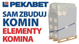 Elementy systemu kominowego Pekabet Uniwersal+