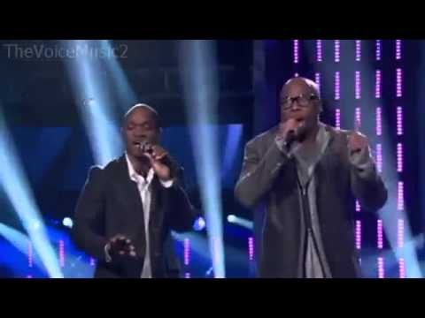 The Voice 2  Anthony Evans vs Jesse Campbell