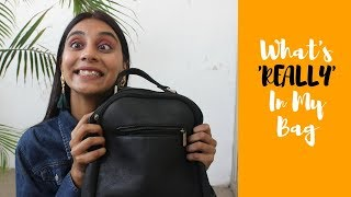 WHAT'S 'REALLY' IN MY BAG!! / Dolly Singh