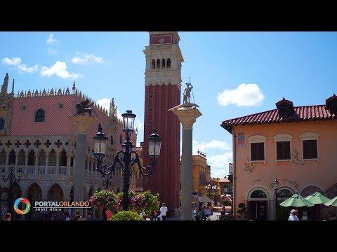 [4K] Italy Pavilion | Epcot