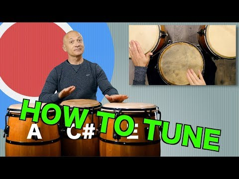 How To Tune a Set of Congas