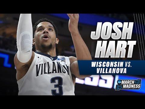 Villanova's Josh Hart scores team-high 19 in loss to Wisconsin