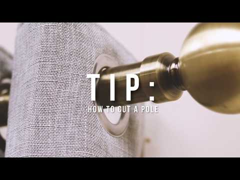 Curtain Pole Guide: How To Measure For A Curtain Pole