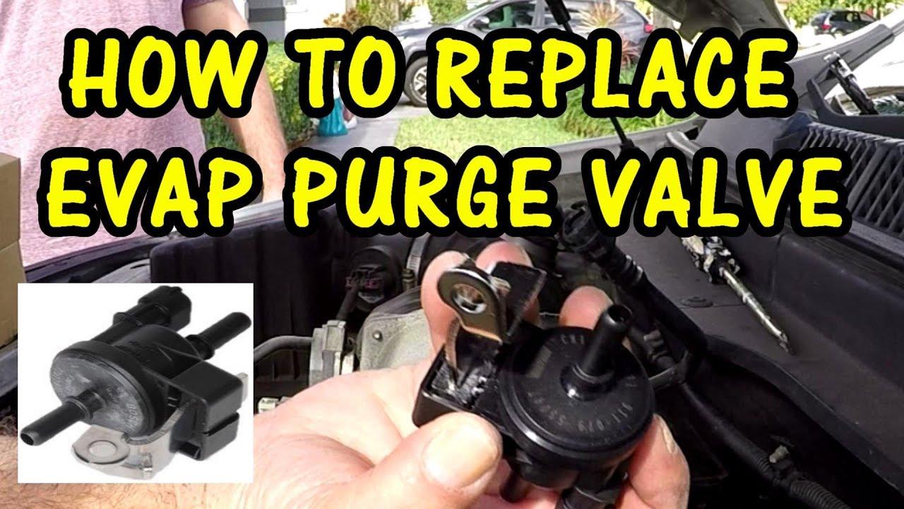HOW TO REPLACE EVAP PURGE VALVE SOLENOID | 2008 SATURN VUE XR 3 6
