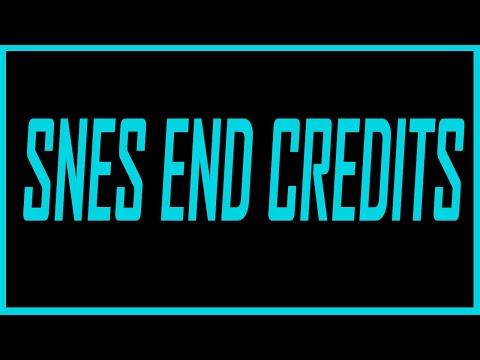 Best Super Nintendo Ending Credits Music - SNESdrunk