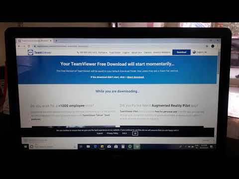 How To Download And Install Teamviewer On Windows 7,8,10