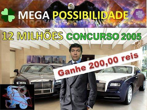 Sorteio mega sena concurso 2000