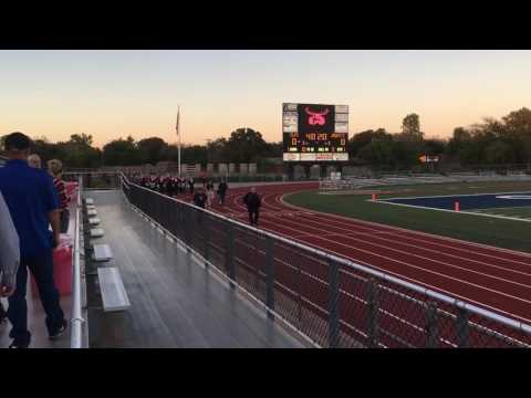 BURLESON HIGH SCHOOL MARCHING BAND
