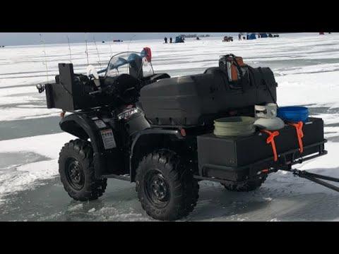 ATV Set Up For ICE FISHING