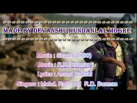 Yamma Yamma Karaoke With Lyrics - Mohd. Rafi and R.D. Burman (Shaan)