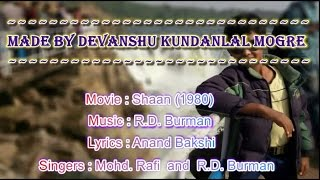 Yamma Yamma Karaoke With Lyrics - Mohd. Rafi and R.D. Burman (Shaan)