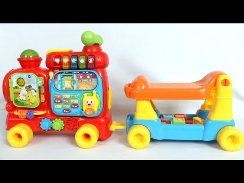 Sit To Stand Ultimate Alphabet Train From Vtech Youtube