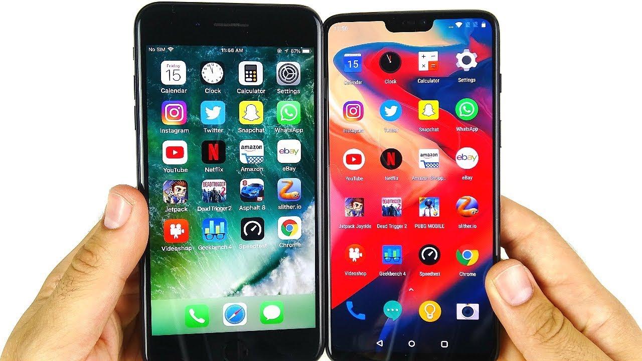 buy popular 7cbd0 34955 Should You Buy iPhone 7 Plus or OnePlus 6?