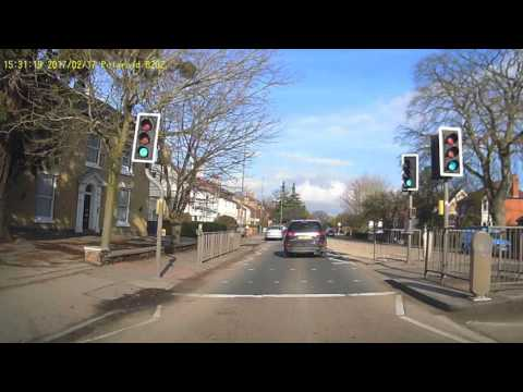 Idiot Driver in Boston Lincolnshire