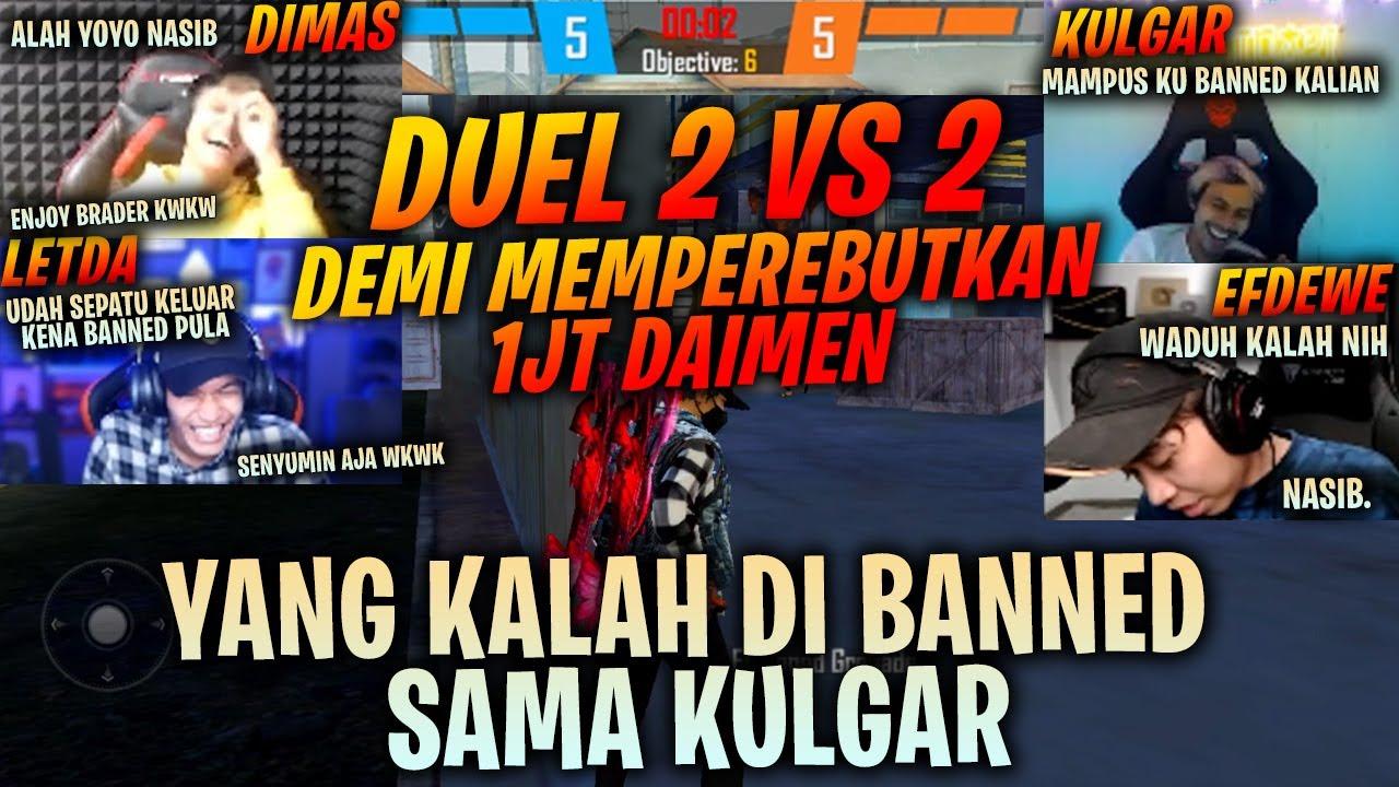 Duel Sengit GM Kulgar Minta Temenin Efdewe !! Gue Sama Dimas Hampir Di Banned Cok :( Ampun GM !!!