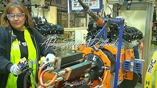 2017 Chrysler, Dodge and Jeep Engine Manufacturing and Engine Assembly Process