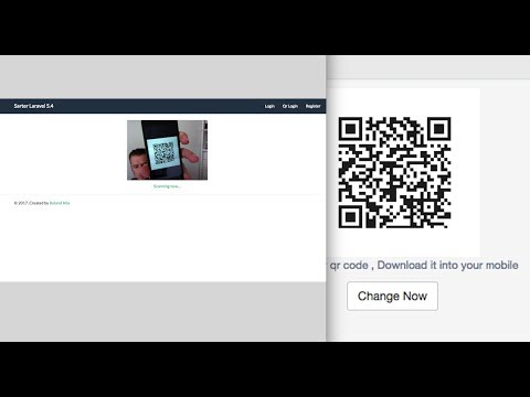 Laravel Login With QR-Code - Roland Alla
