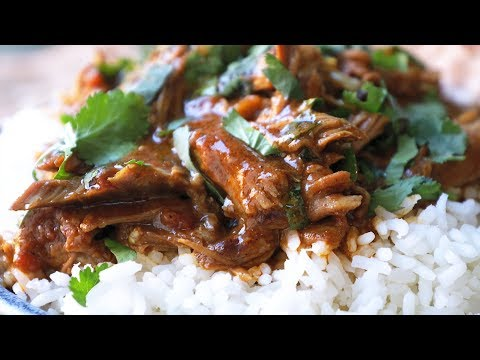 Slow Cooker Lamb Curry - Beautifully Tender Lamb In A Rich Curry Sauce!