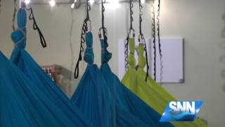 SNN: Get Up Get Active: Aerial Yoga with CircuSoul Yoga