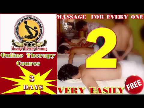 Massage Therapy Training | Online massage Coures 3 days only | day 2