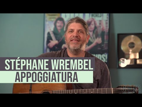 Stéphane Wrembel - How to use an appoggiatura to create a dramatically appealing melody