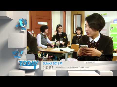 Today 2/18] School 2013 -ep 15(15:10,KST) - YouTube