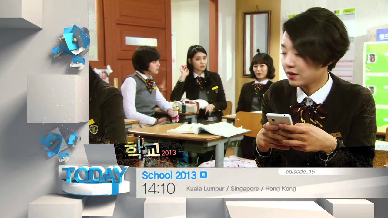 [Today 2/18] School 2013 -ep 15(15:10,KST)