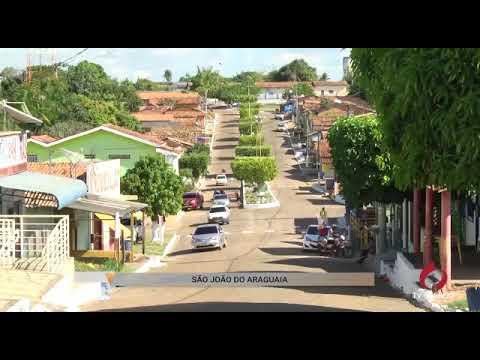 A bela cidade de São João do Araguaia no PARÁ